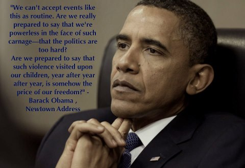 obama on newtown