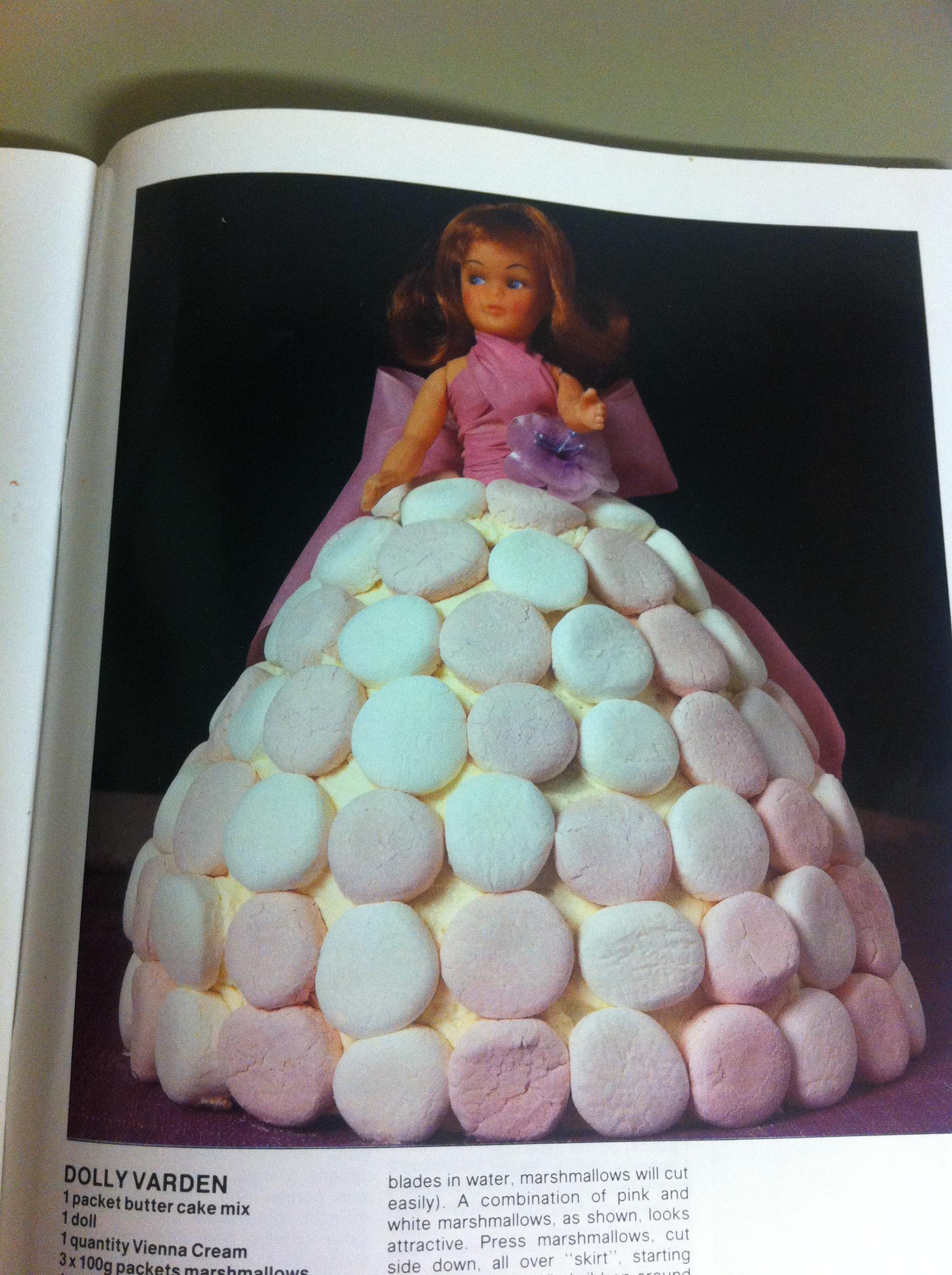 Recipe For Doll Cake Tin