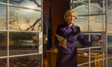DAME Quentin Bryce (portrait by Ralph Heimans). Lawyer, women's rights advocate, human rights advocate, pretty amazing woman really.