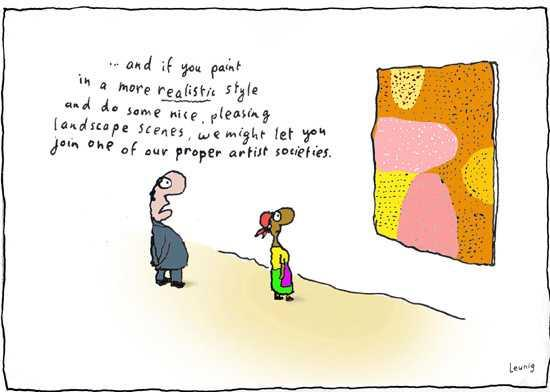 Cultural Conservatism Cartoon by Leunig