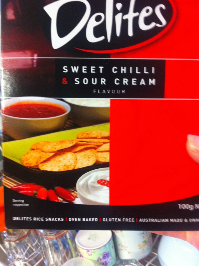 I'm going to serve my sour cream and chili crackers with a bowl of sour cream, some sweet chili sauce and oh what the heck, a bunch of chilies. Anyone for a chili?