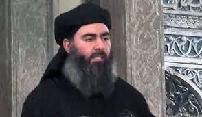 This is supposedly Abu Bakr al -Baghdadi.
