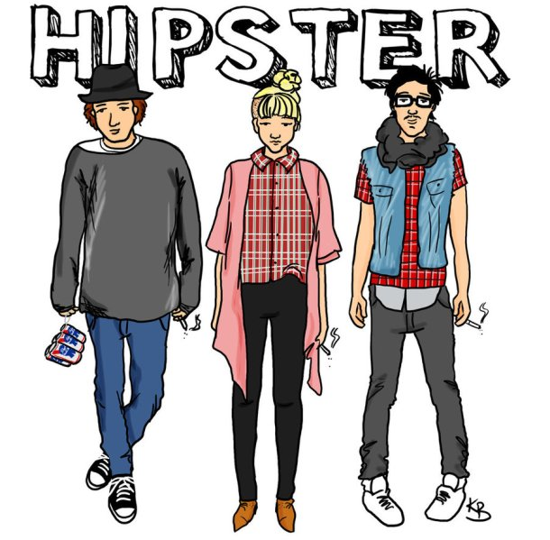 Hipsters by Katie Brioux